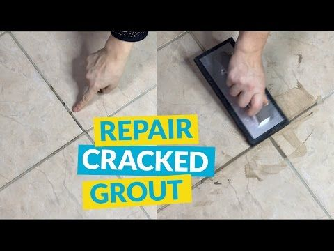 Fix Cracked Missing Tile Grout In A Few Easy Steps Grout Repair Tile Grout Repair