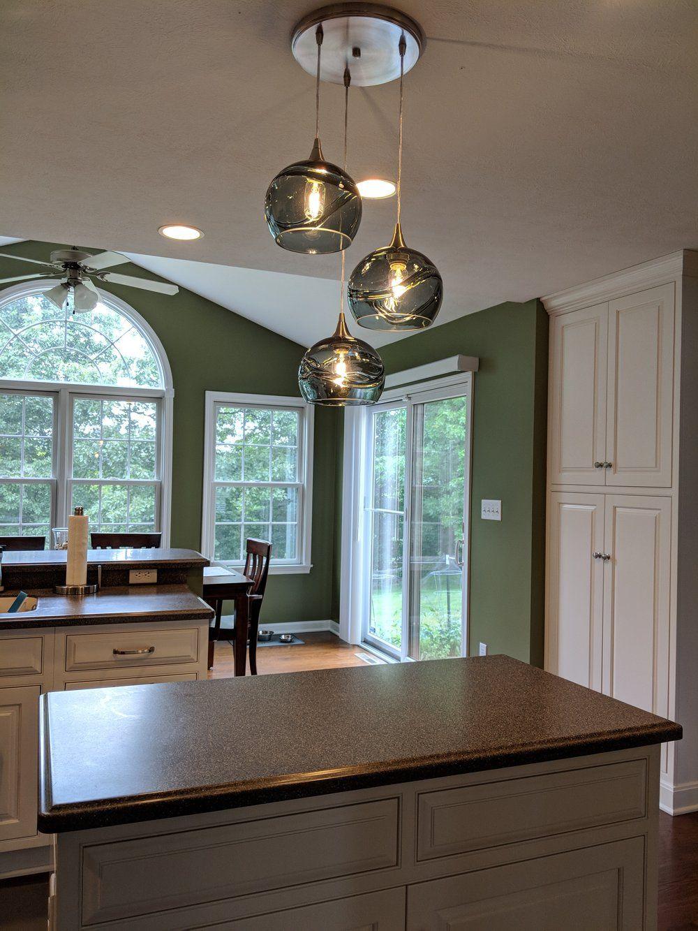 Kitchen window molding  swell  pendant cascade chandelier  design no   home renewal
