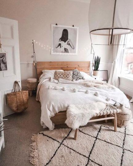 Schlafzimmer Inspiration Boho Thema Zimmereinrichtung In 2019
