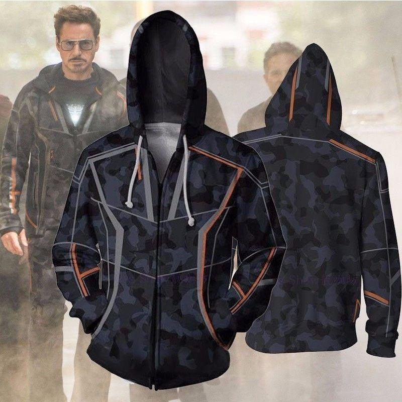 crazy price exclusive range lace up in Tony Stark Avengers Infinity War Jacket Hoodies | Hoodies ...