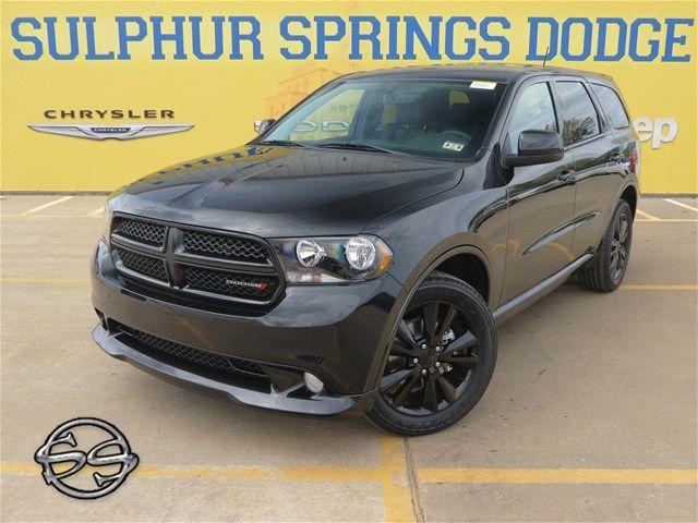 2013 Dodge Durango Black Sulphur Springs Dodge Dodge Durango
