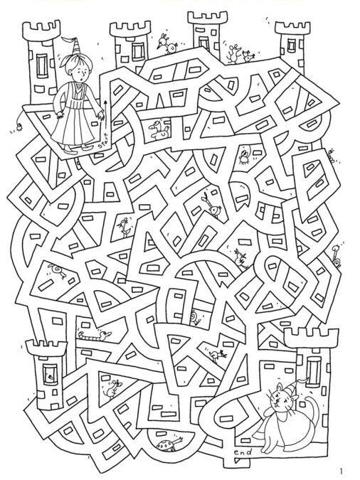 Labyrinth Labirent Labirentbulmaca Bulmaca Mazepuzzle Maze