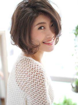 上品な40 50代からのベストヘアカタログ 2019 春夏 人気髪型 前