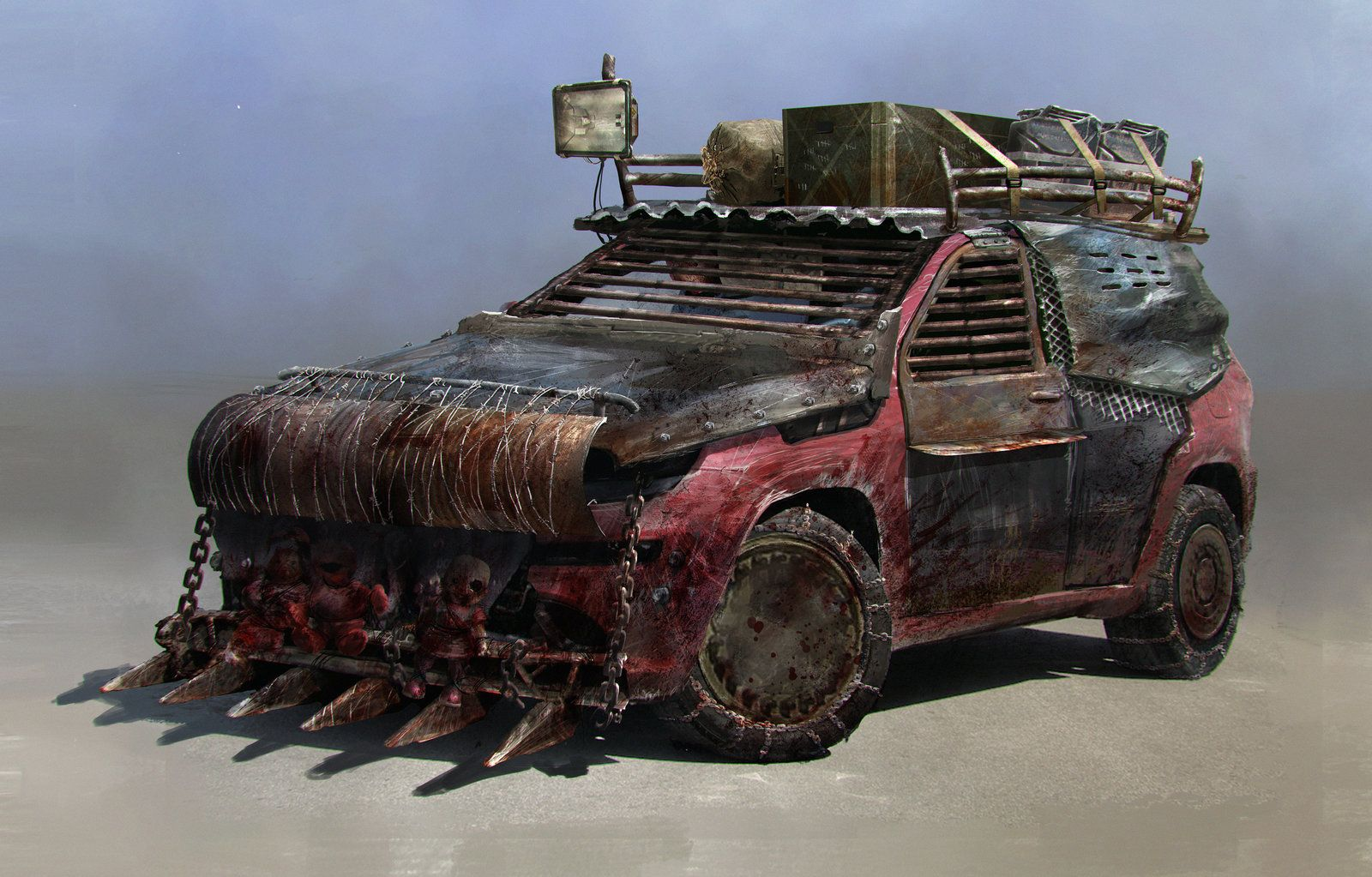Post apocalyptic car post apocalypse pinterest post apocalyptic cars and monster car