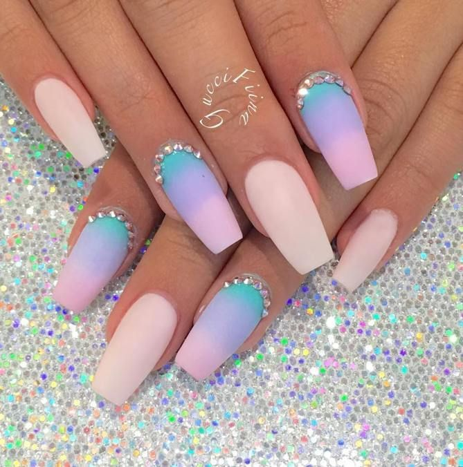 38 Pretty Coffin Ballerina Nails You Will Love - #nails #nail art ...