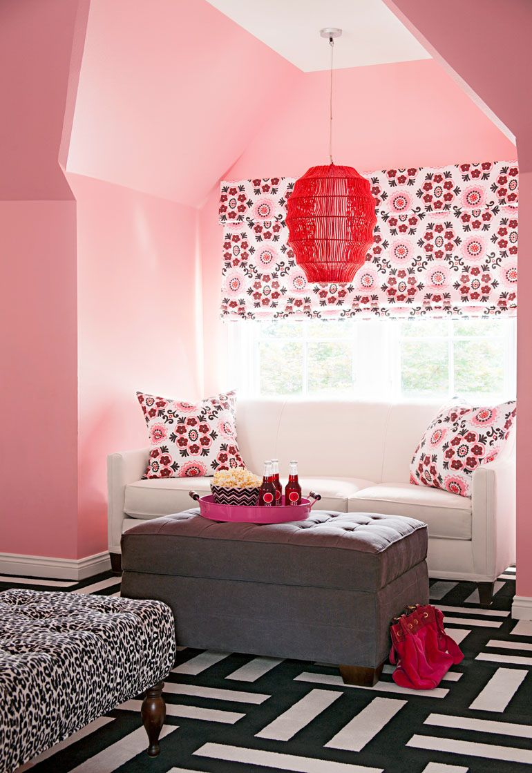House Tour: Full House, Full Color   Bedroom Decorating Ideas ...