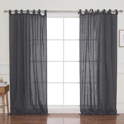 Foundstone Sutton French Linen Solid Room Darkening Single