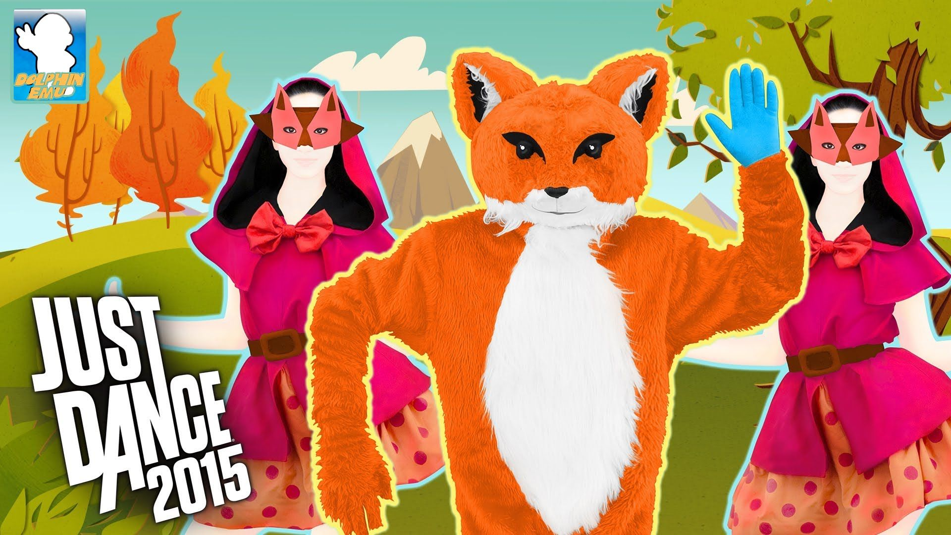 WII] Just Dance 2015 - Ylvis - The Fox (What Does The Fox Say?) -5 ...