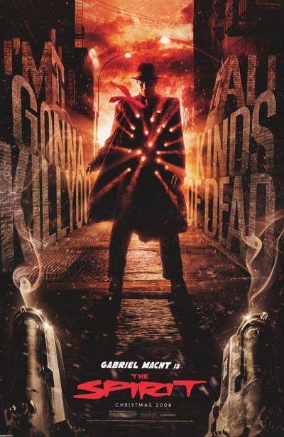 The Spirit Frank Miller Movie Poster 24x36 Filmes Online