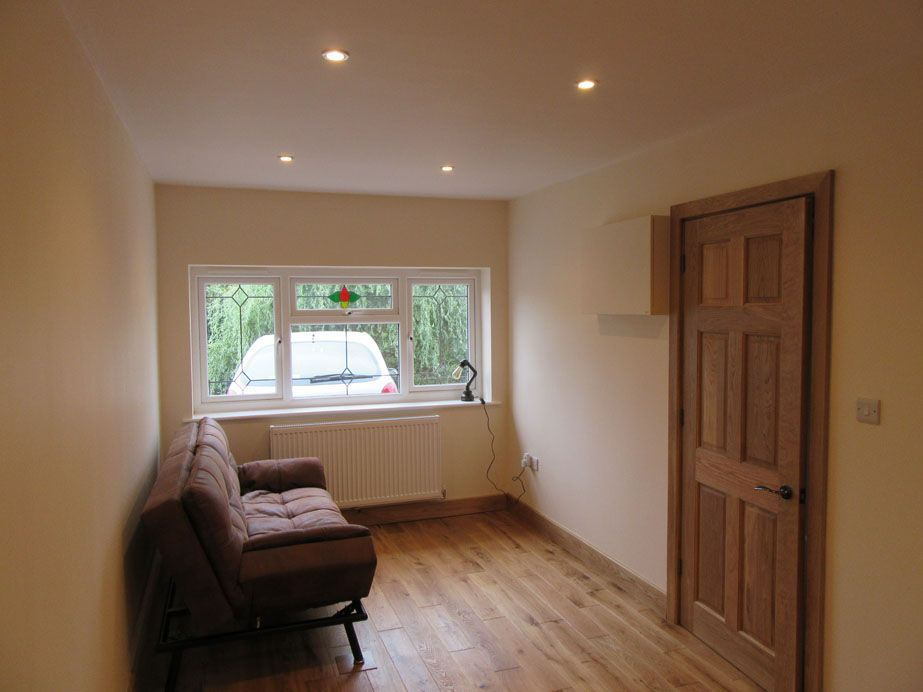 Single Garage Conversion Conversions By Lexden Builders Of