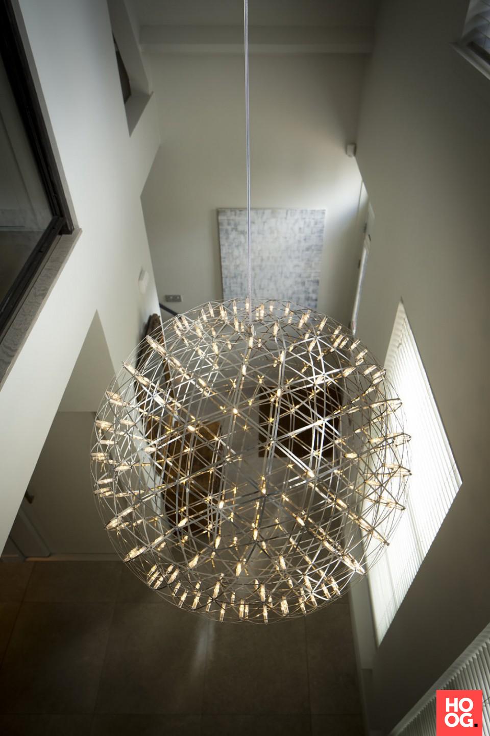 Luxe verlichting in hal | Hal | Pinterest