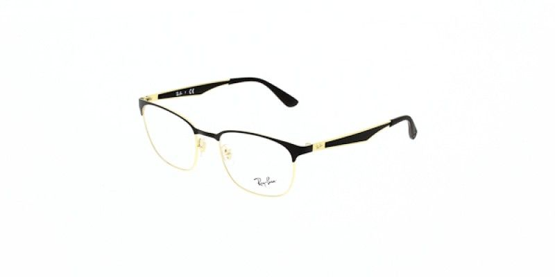d90c523ef3420 Ray Ban Glasses RX6356 2875 50 is a black frame and is designed for unisex.  It is a small style with a 50mm lens diameter. The bridge size for this  model is ...