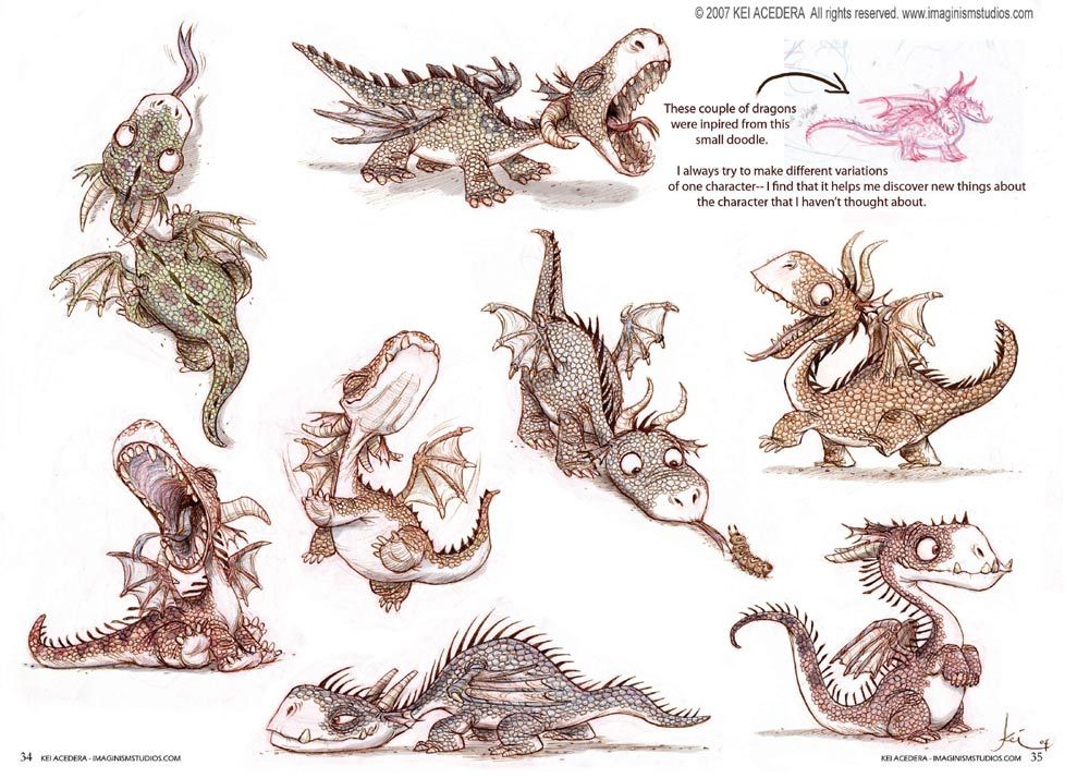 Academy Of Character Design : Academy of art character and creature design notes