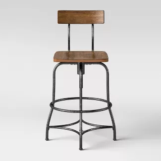 Shop For Small Wood Stool Online At Target Free Shipping On Orders Of 35 And Save 5 In 2020 Kitchen Island Stools With Backs Adjustable Bar Stools Adjustable Stool