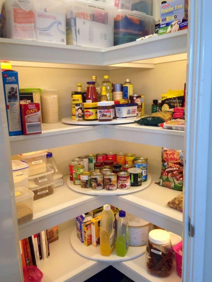 29 Praktische Pantry-Organisation Ideen die viel Platz sparen sparen praktische #pantryorganizationideas