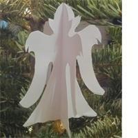 Ange de Noël en papier : modèle à télécharger et à découper. | Fabriquer deco de noel, Anges de noël