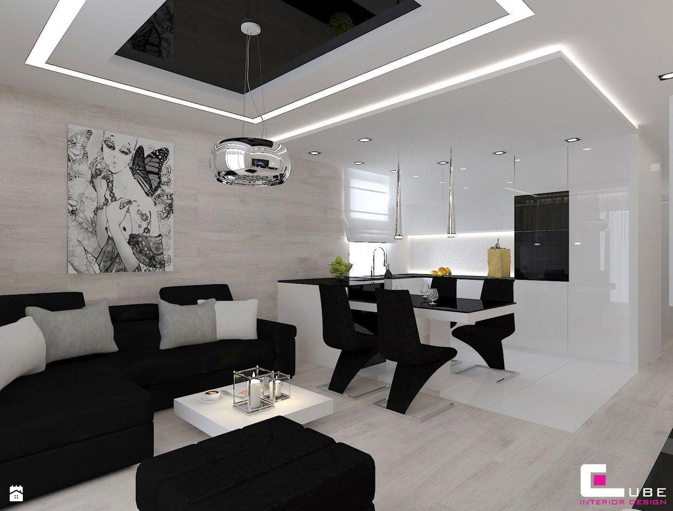 Kuchnia styl Nowoczesny - zdjęcie od CUBE Interior Design - Kuchnia ...