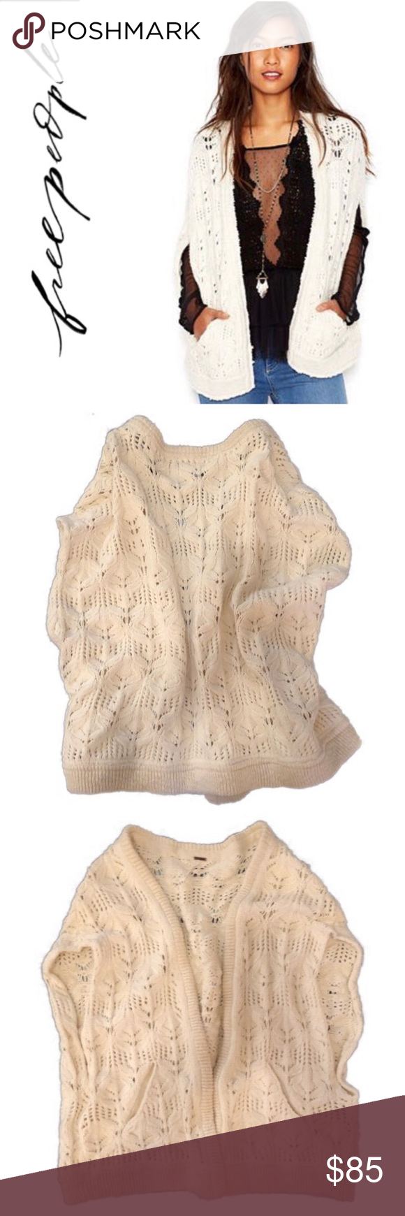 Free People Cream Chunky Cable Knit Sweater Vest Free People Cream Chunky Cable Knit Sweater Vest Is In Excell Chunky Cable Knit Sweater Fashion Clothes Design