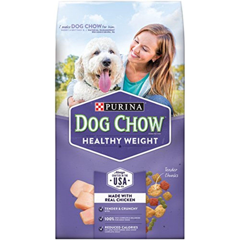Purina Dog Chow Healthy Weight Dry Dog Food (3) 4 lb
