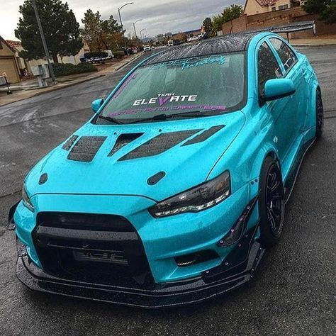 Girl Driven Follow Widebody Tribe Owner Evox Lex Model Photo By Follow My Person Mitsubishi Lancer Evolution Mitsubishi Cars Mitsubishi Evo