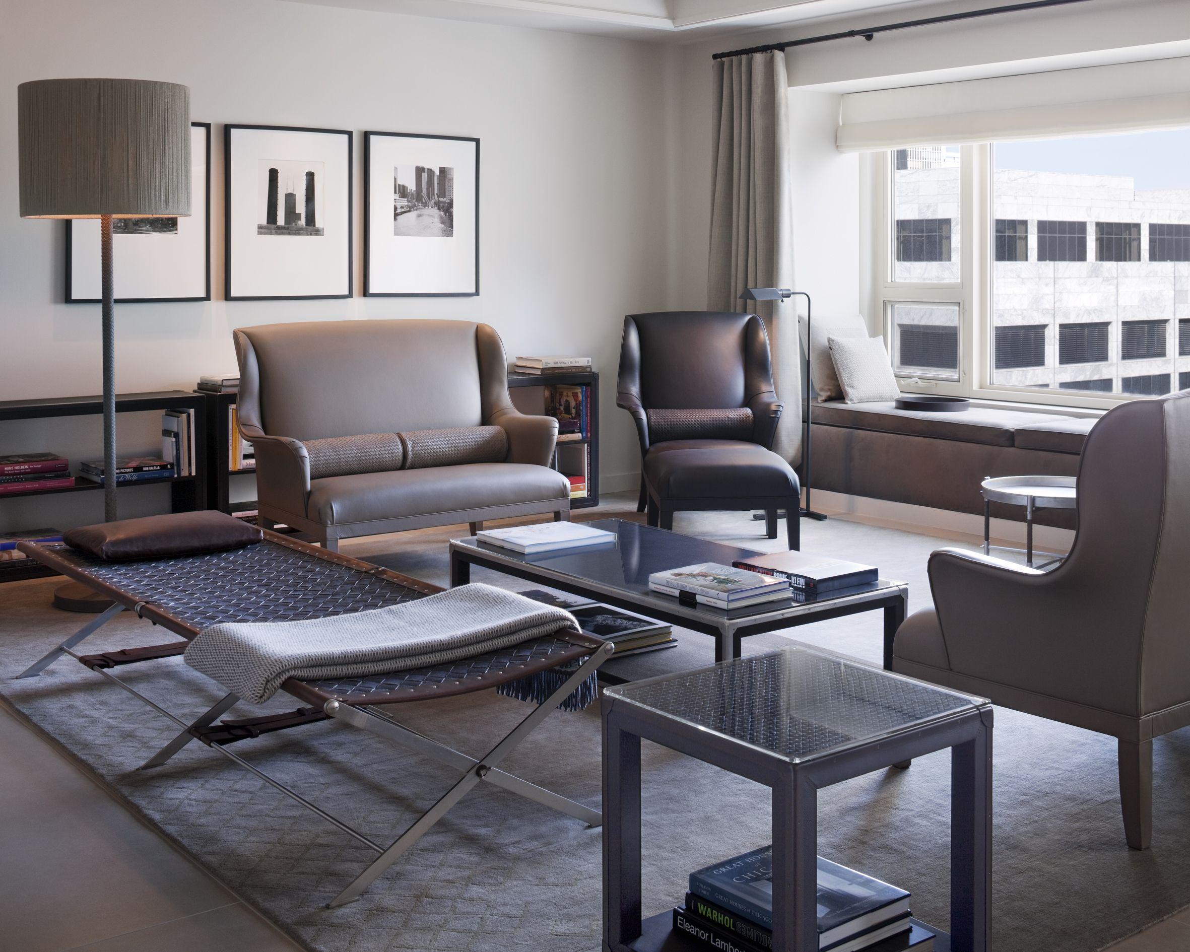 Beau Park Hyatt Chicago | Suite Designed By Botega Venetta