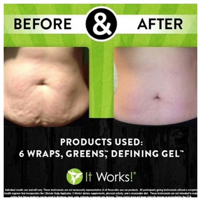 Have you tried that crazy wrap thing? iownit.myitworks.com