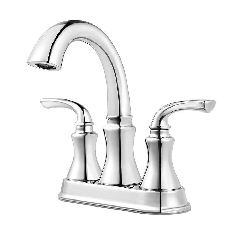 Shop Pfister Solita 2 Handle 4 In Centerset Bathroom Faucet At