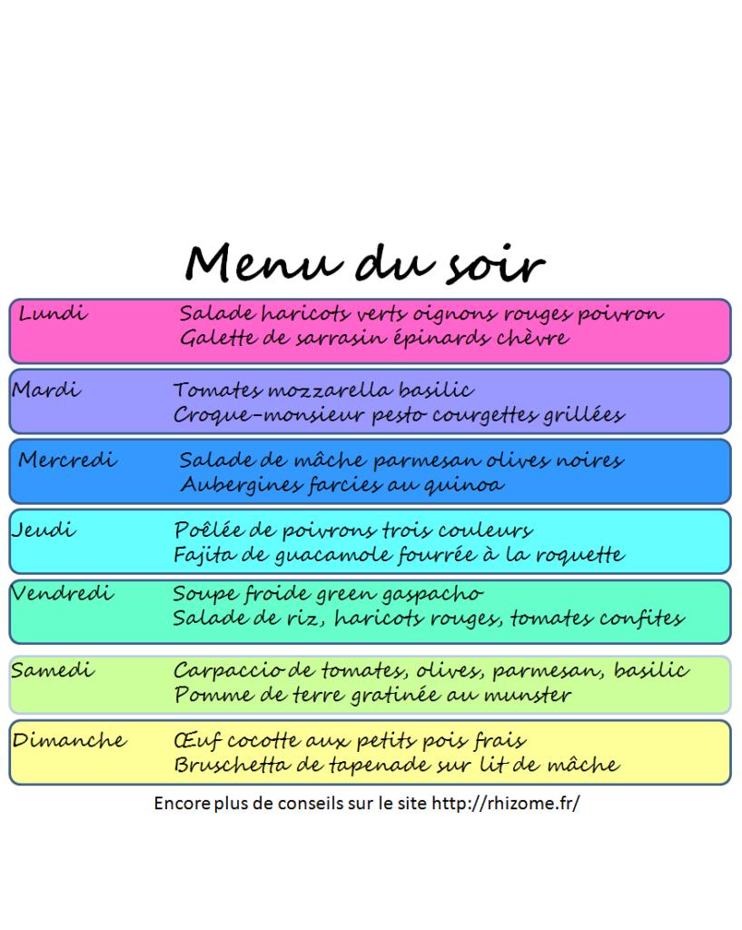 Idée Menu Pour Le Soir Des idées de menus pour le soir | Idée menu soir, Idee menu, Recette