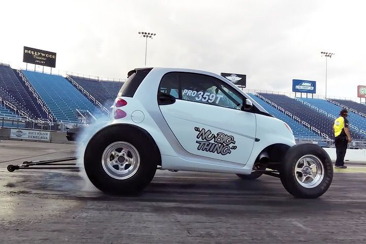 Watch This V8 Smart Car Run the Quarter Mile in 9 Seconds | Smart ...