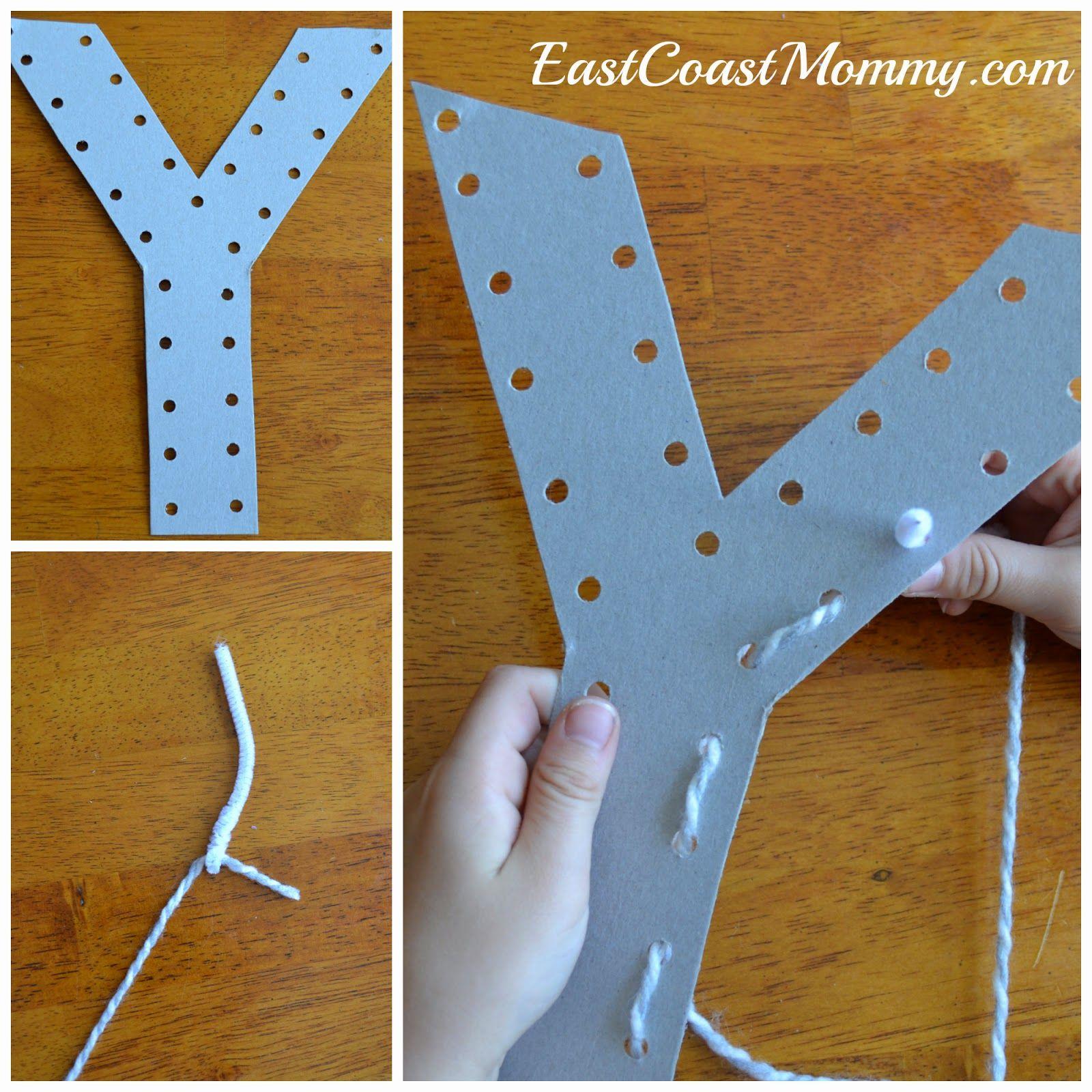 Alphabet Crafts - Letter Y