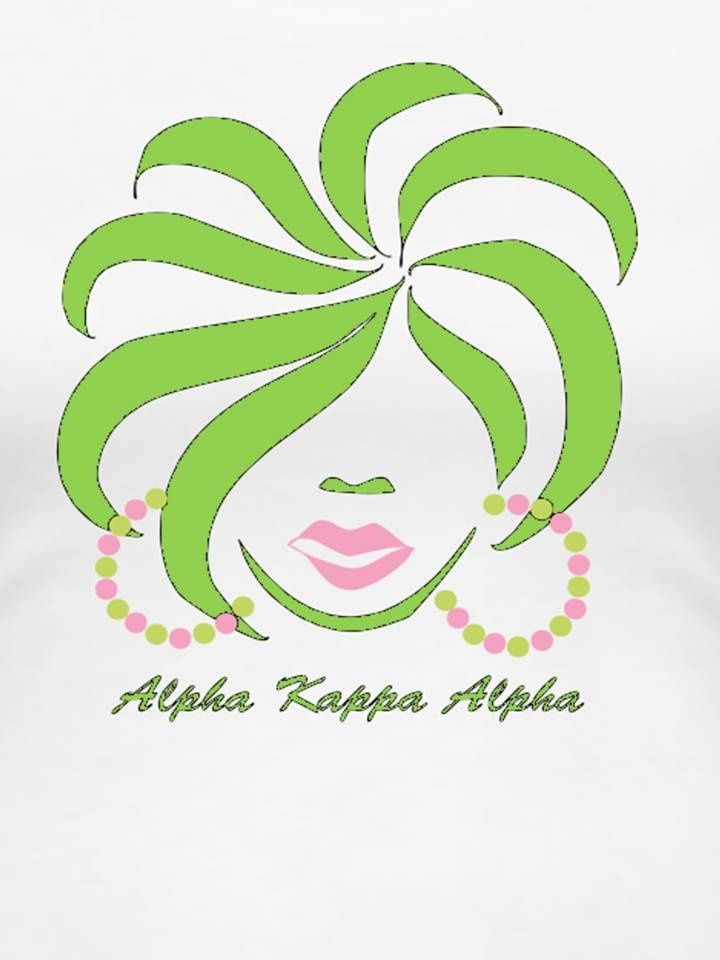 AKA Clip Art and/or Crafts on Pinterest | Alpha Kappa Alpha, Ivy and ...