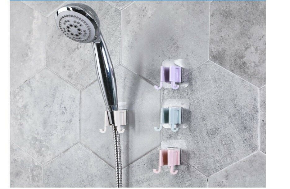 Us 1pcs Plastic Shower Head Holder Handheld Sprayer Pedestal