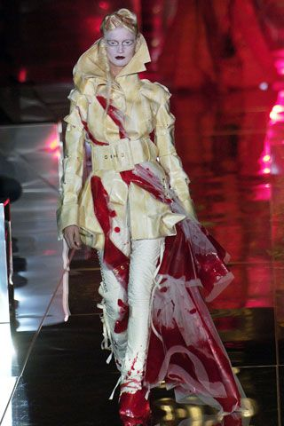 John Galliano for Christian Dior Spring Summer 2006 Haute Couture. Inspired  by the French Revolution. 1366b66c698
