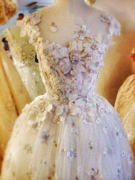 Whimsical Fairy Wedding Dress