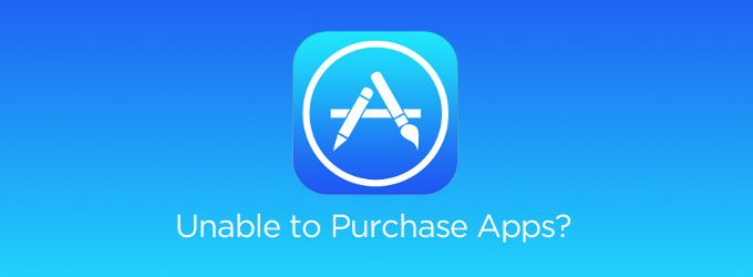 Unable to Purchase Apps After iOS 7.0.x Update on iPhone