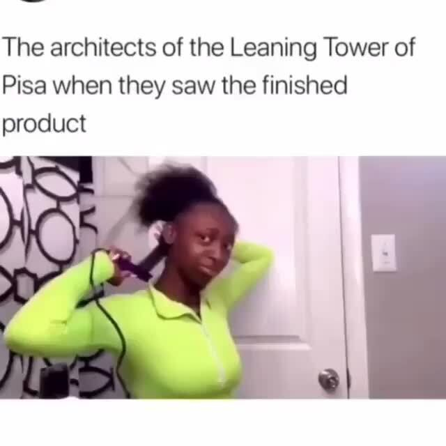 The architects of the Leaning Tower of Pisa when t