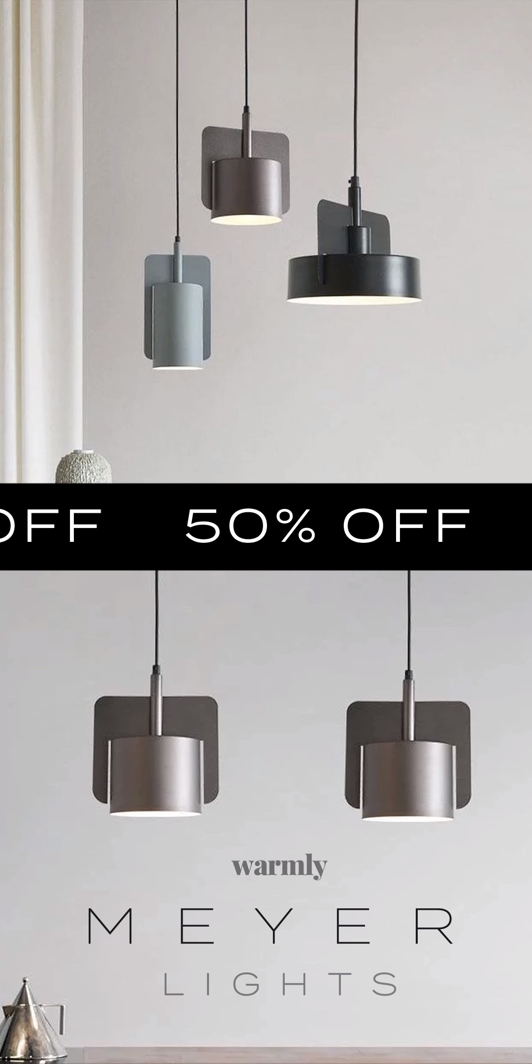 Meyer Nordic Lamps - Warmly #kitchenextensions