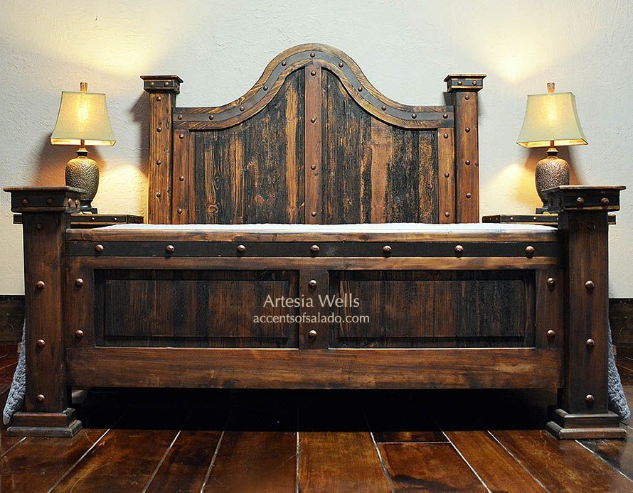 Artesia Wells Rustic Bedroom Furniture #westernfurniture  Western Amazing Rustic Bedroom Furniture Review
