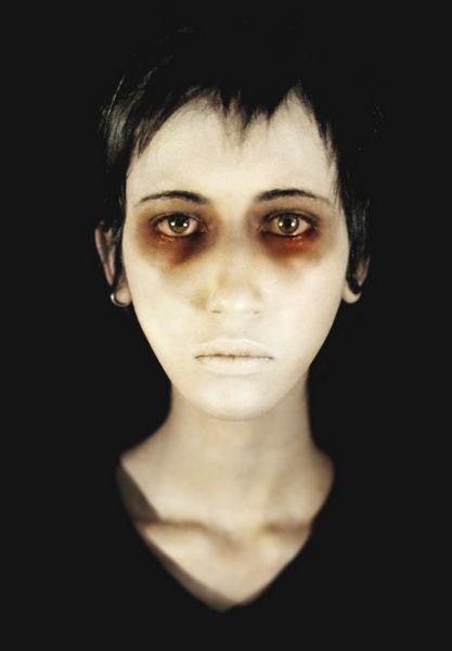 makeup - Reminds me of 'carnival of souls' #makeup #halloween