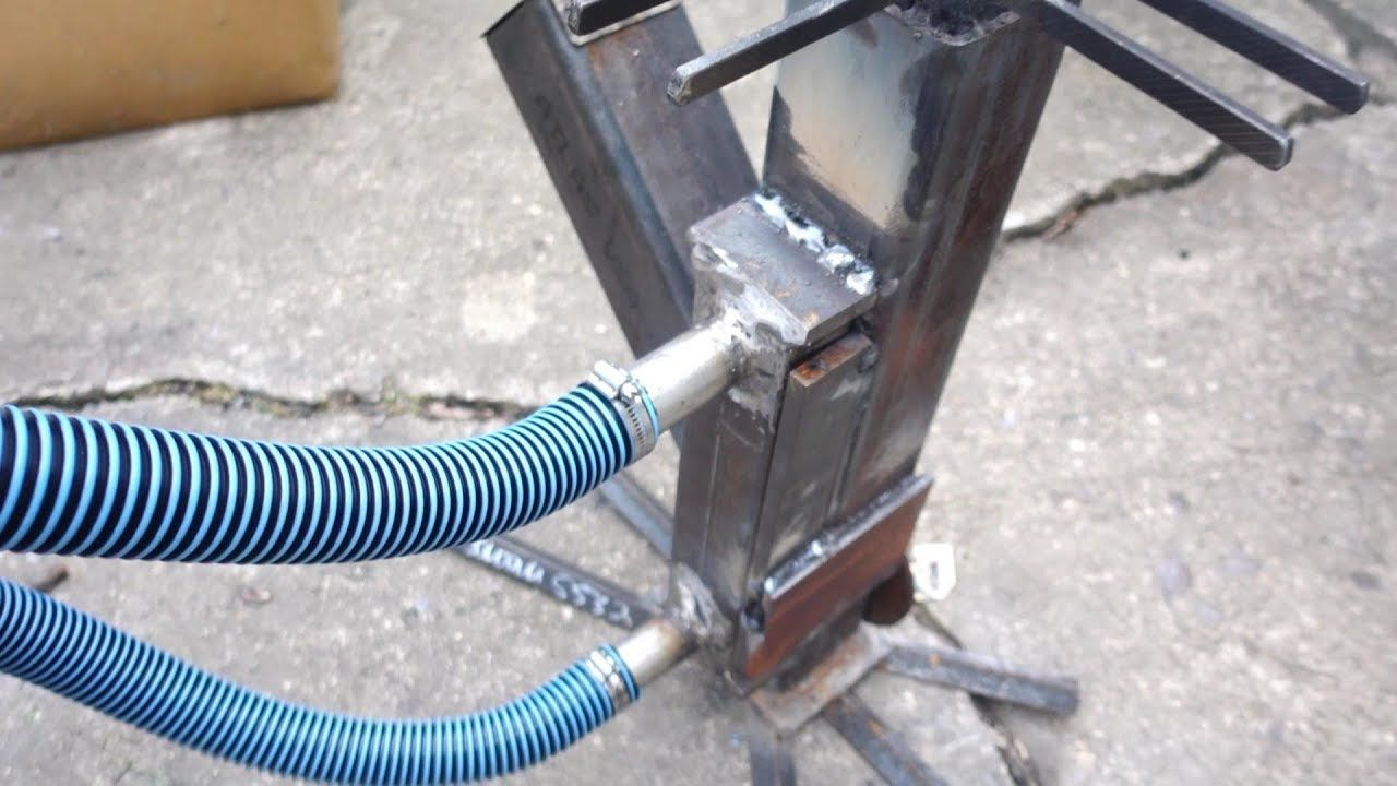 Rocket Stove Water Heater First Attempt Poolheizung