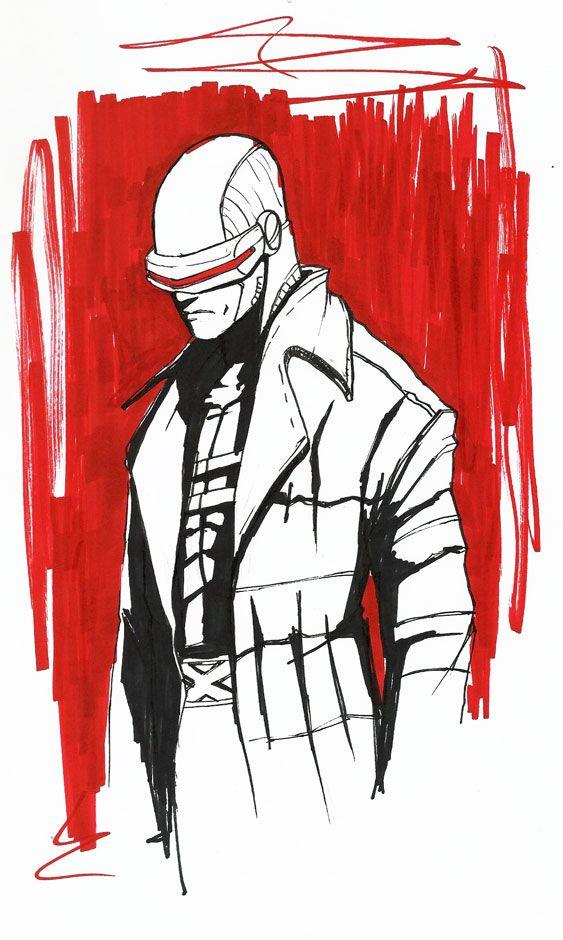 Scott Summers Cyclops By Thebabman On Deviantart Cyclops Artist Marvel