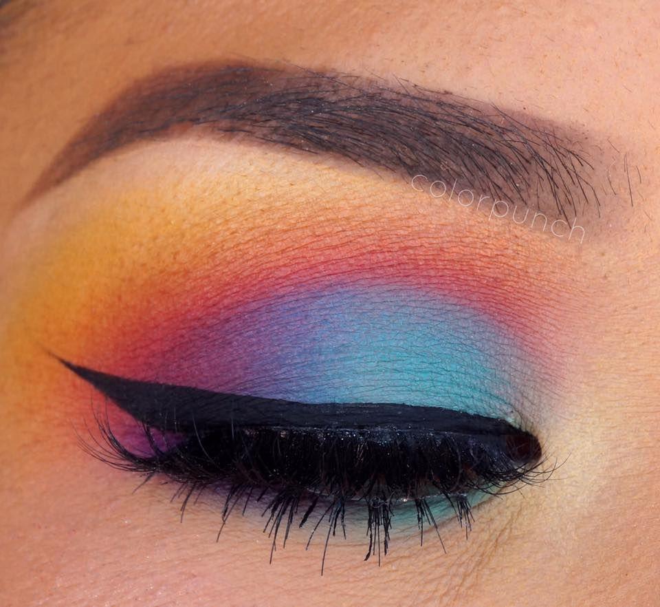 Sunset makeup tutorial monsters makeup and eye sunset makeup tutorial baditri Images