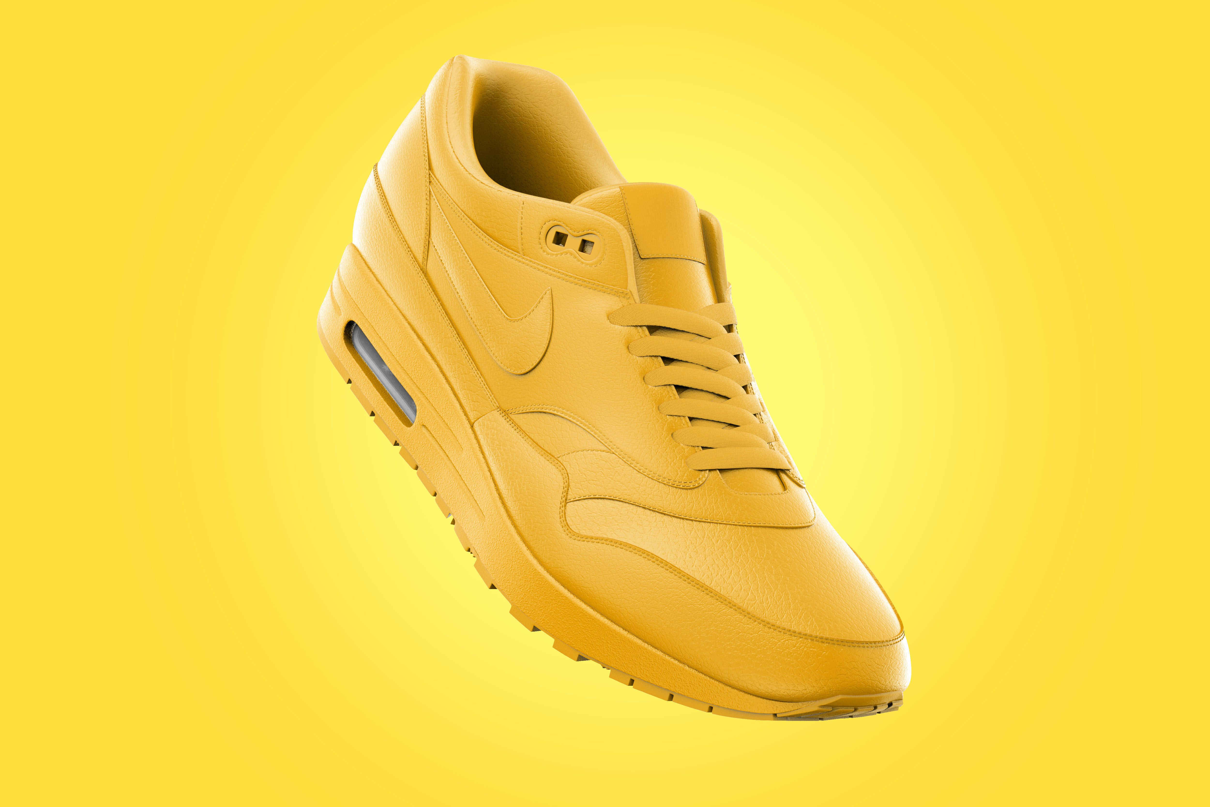 "51d52f594 Vedi questo progetto  Behance  ""Nike Air Max - Mockup - 3D   Rendering"""