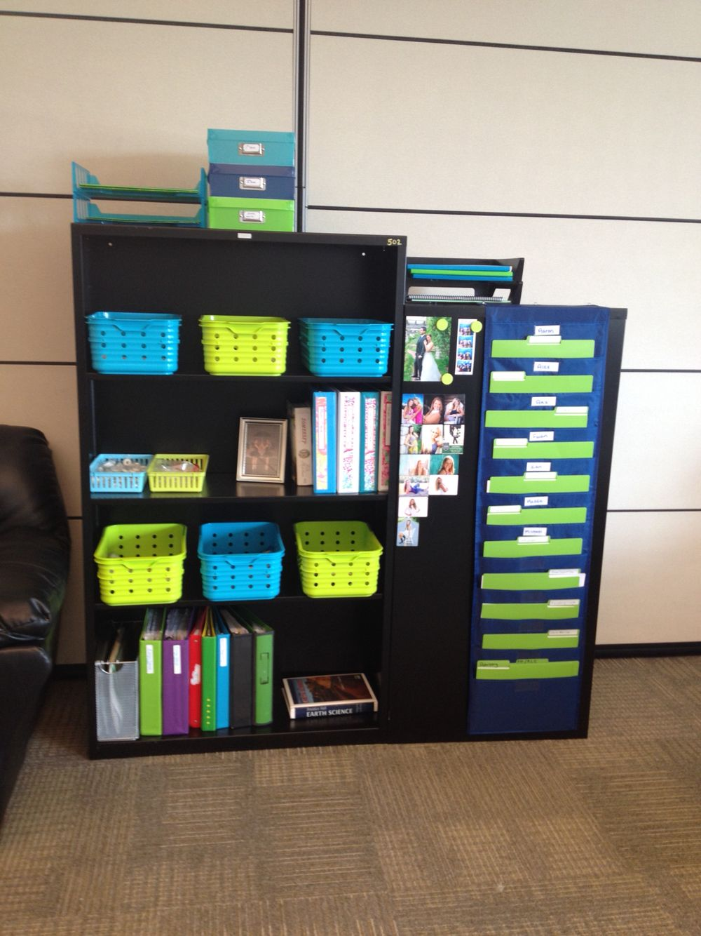 Navy And Blue Lime Green Clroom Gotta Stay Organized