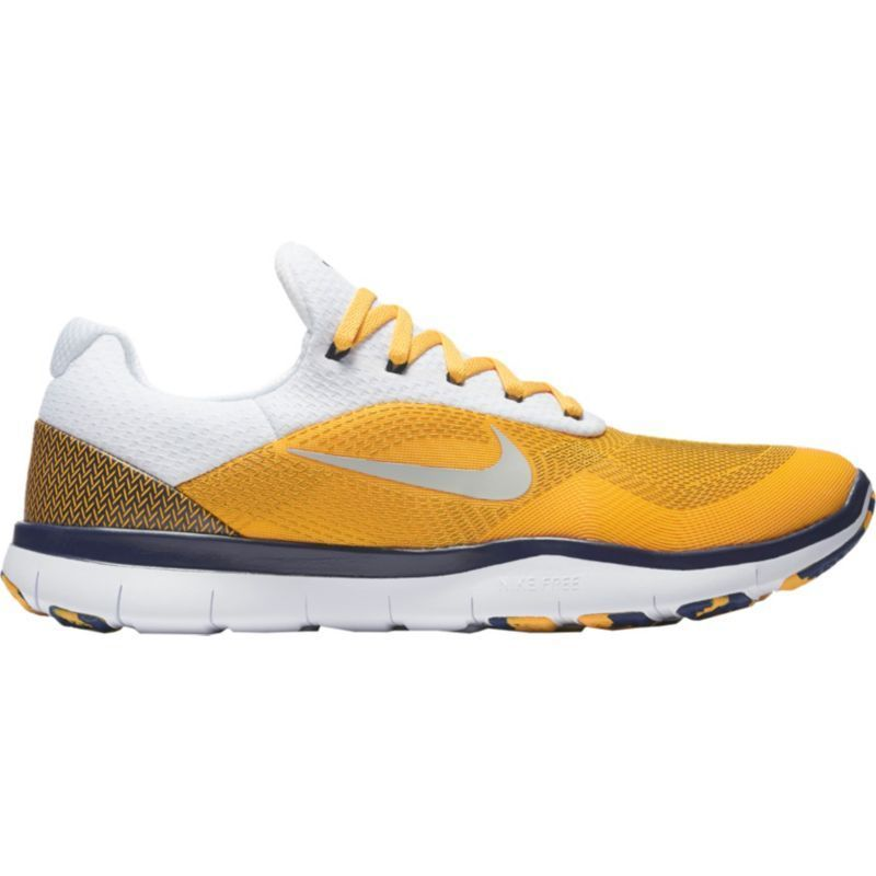 4a3f74771ca05 ... official nike mens free trainer v7 week zero wvu edition training shoes  west virginia yellow nike