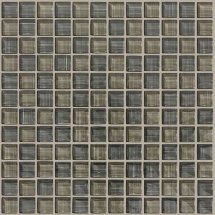 Glass Mosaic Tile In Style Marquis Glass Color Platinum