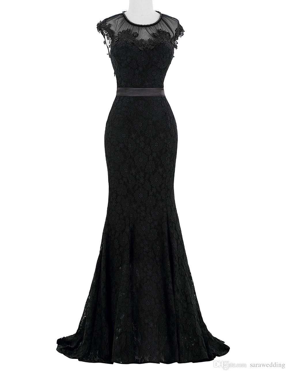 lange abendkleider  Prom dresses long black, Mermaid formal gowns