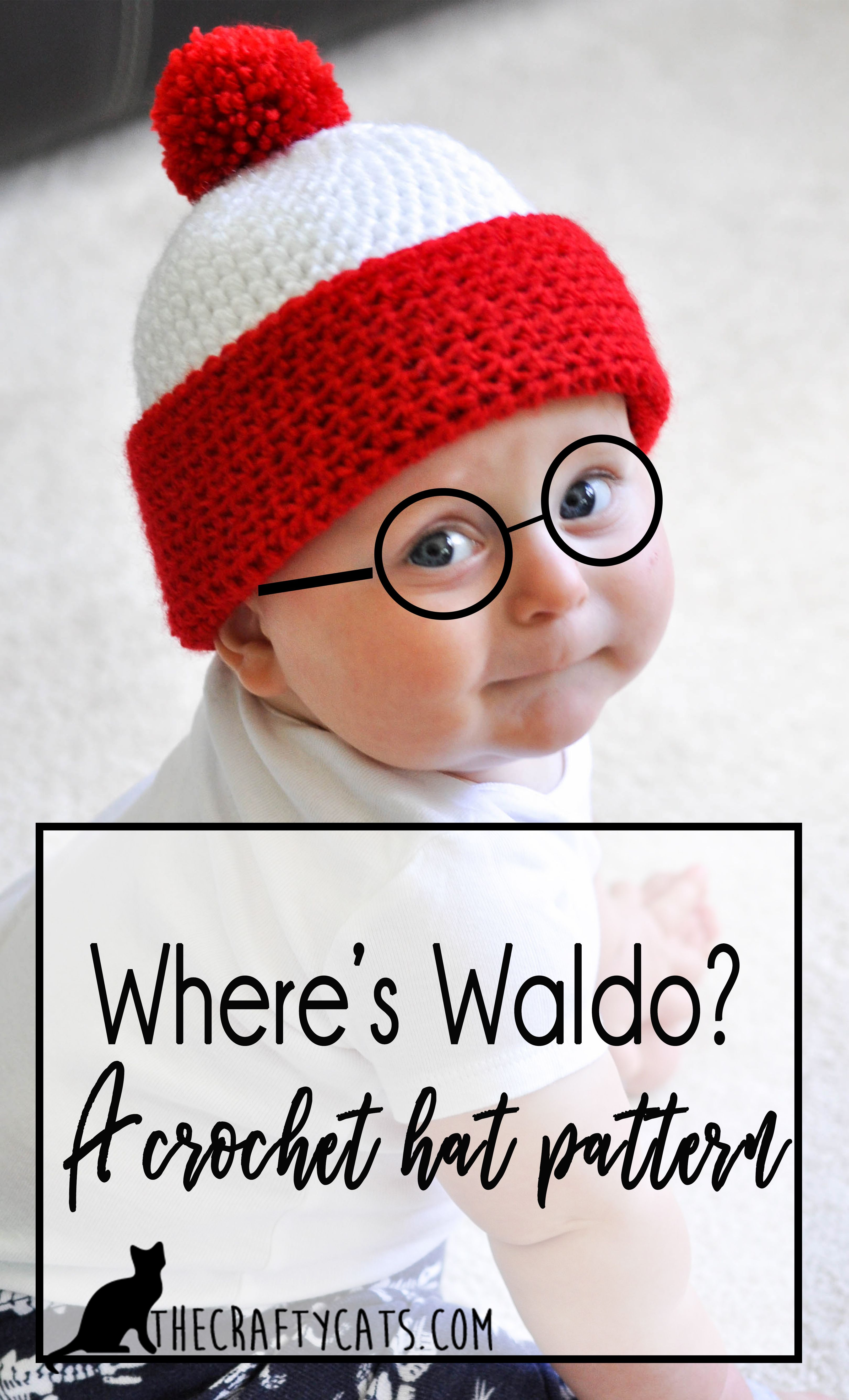 Wheres Waldo Free Hat Crochet Pattern For Little Waldos Crafts