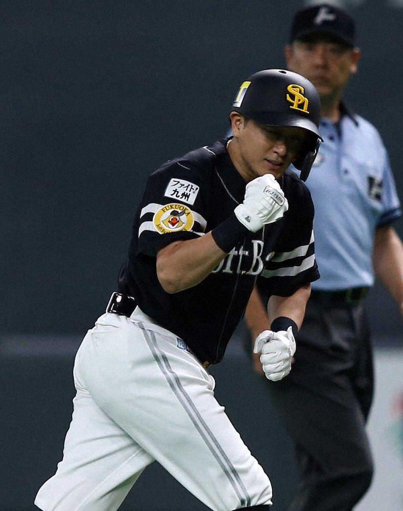 Photo of ソフトバンク・川島「俺はホークスの5番だ」プロ初抜てきに応えた! – スポニチ Sponichi Annex 野球