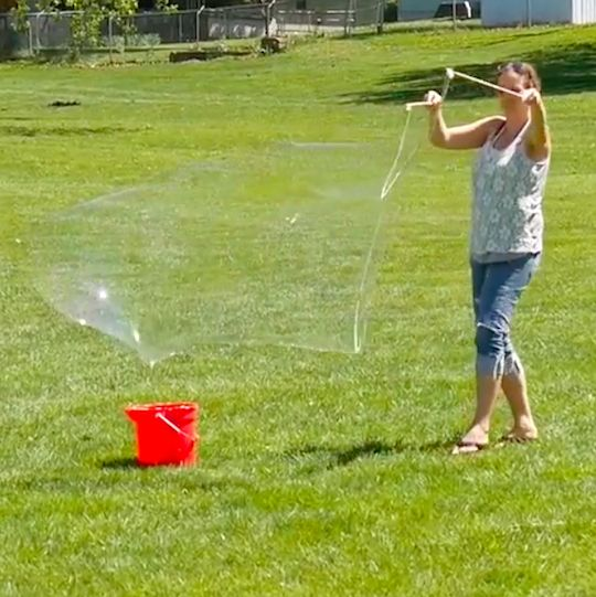 Photo of How to Make Giant Soap Bubbles | eHow.com